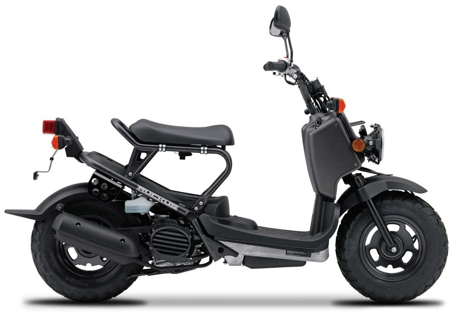 2009 Honda Ruckus - photo from http://powersports.honda.com/