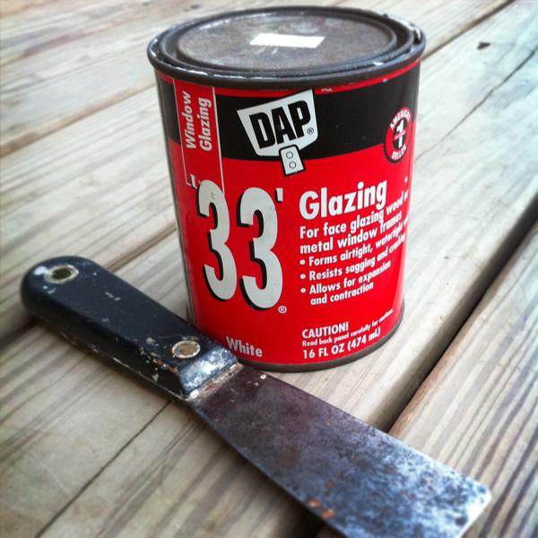Dap Window Glazing : Reglazing a window dadand