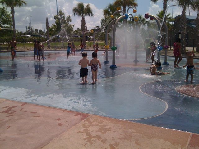 Dr. Philips splash park in Orlando, FL