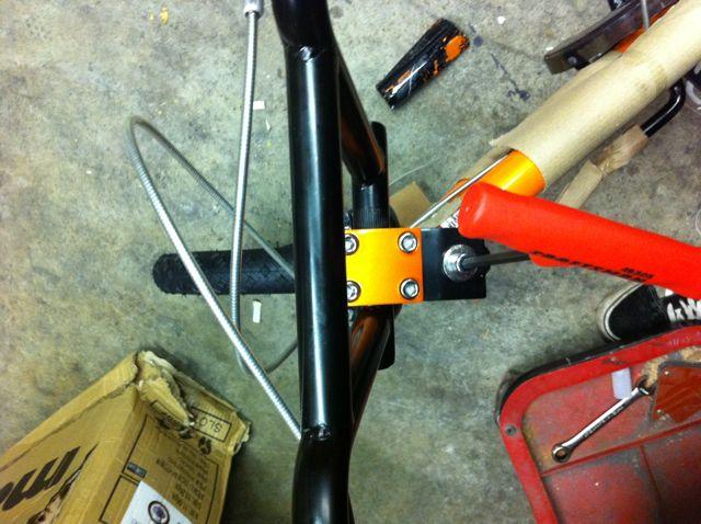 Aligning handlebars on a child bike