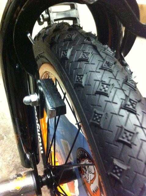 Dad blog child bike brakes