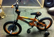 Assembly of kid's bike, bicycle from dad blog