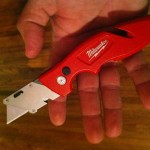 Milwaukee Flip Open Utility Knife