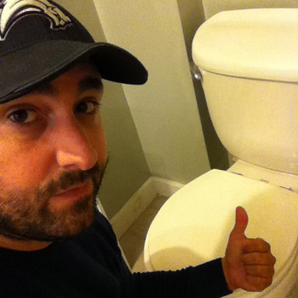 Unclogging the toilet