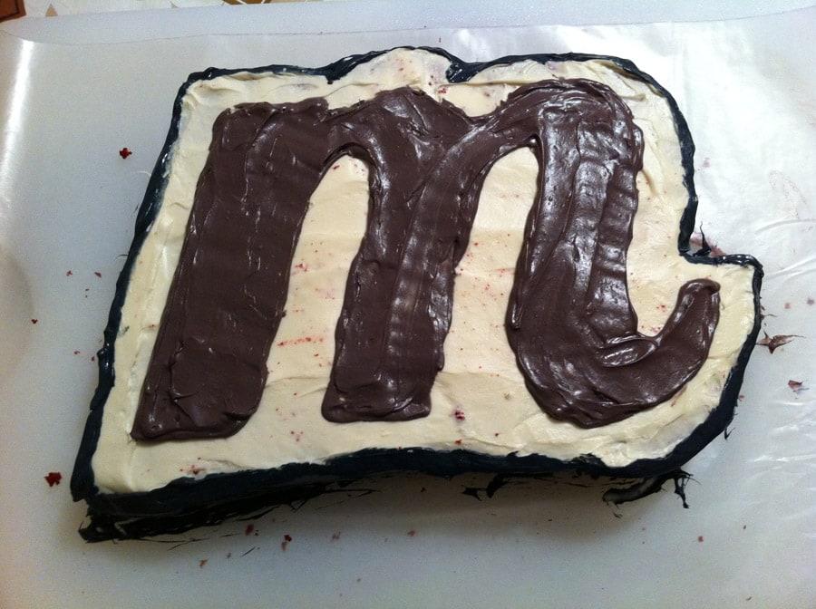 Making a Custom Cake 6