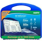 Eneloop rechargable batteries for christmas gift