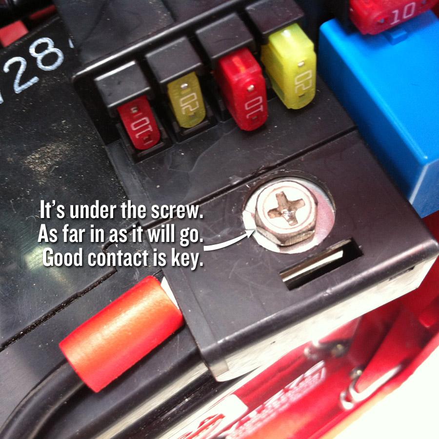 Honda Ruckus Battery Tender