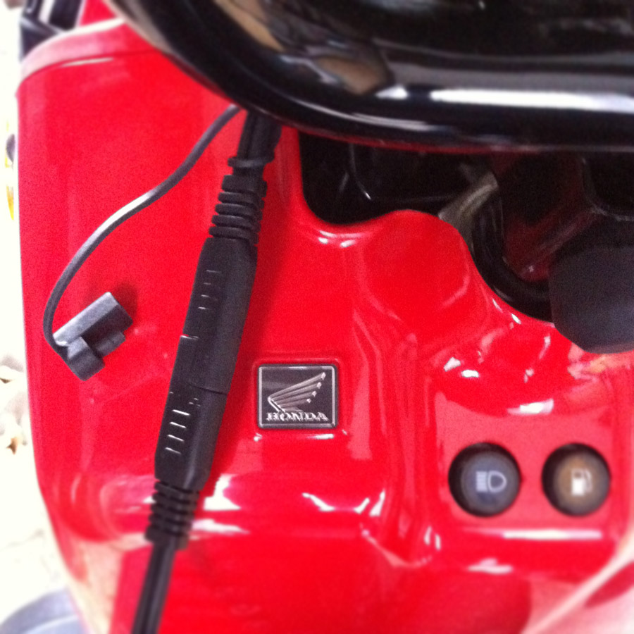 Honda Ruckus Battery Tender