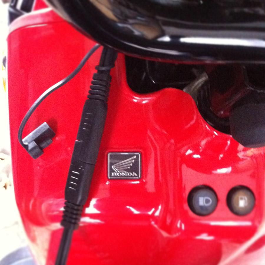 Connecting A Battery Tender To Honda Ruckus 2012 Nps50 Wiring Diagram