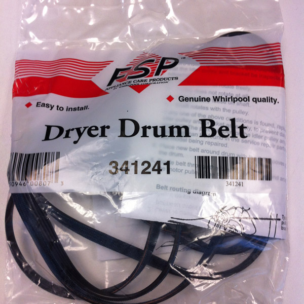 Dryer Drum Belt 341241