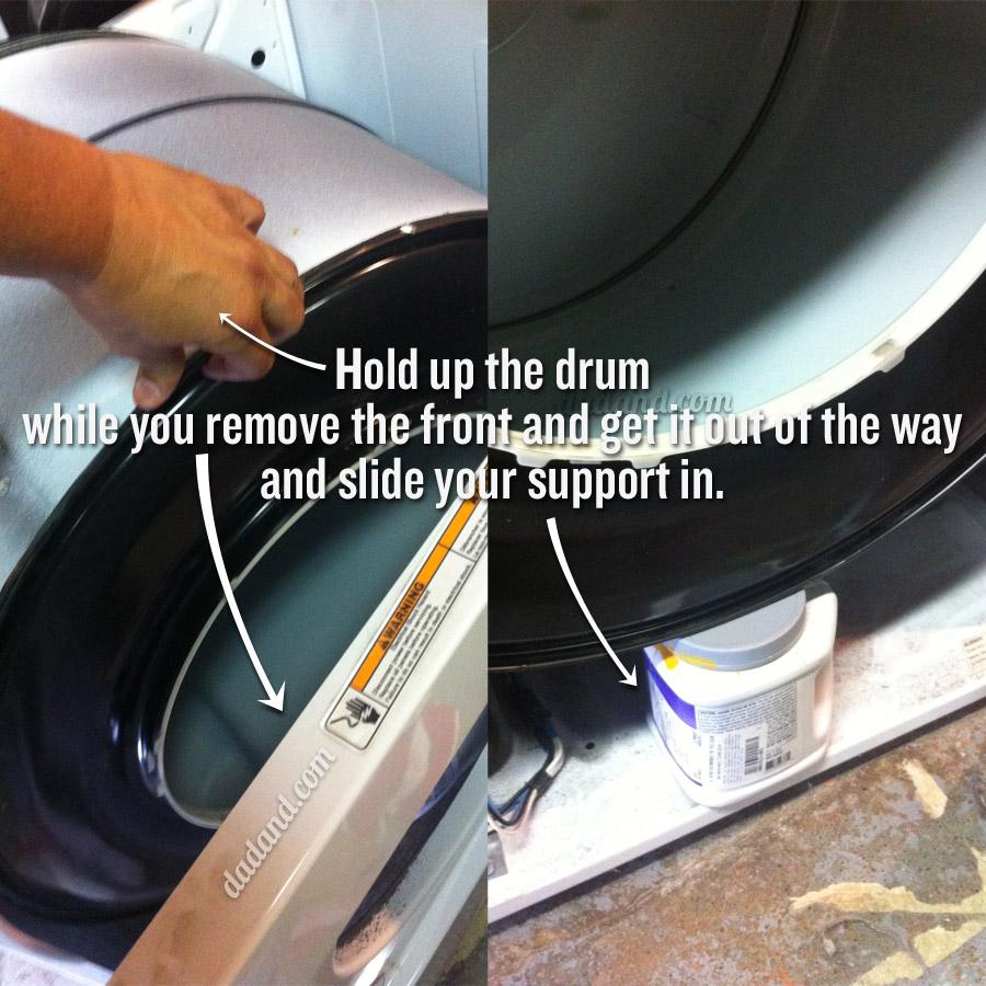 Dryer Drum Belt Replacement