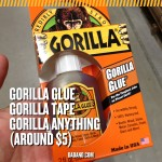 Dad Gift Idea - Gorilla Glue