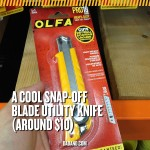 Dad Gift Idea - OLFA PRO18 Utility Knife