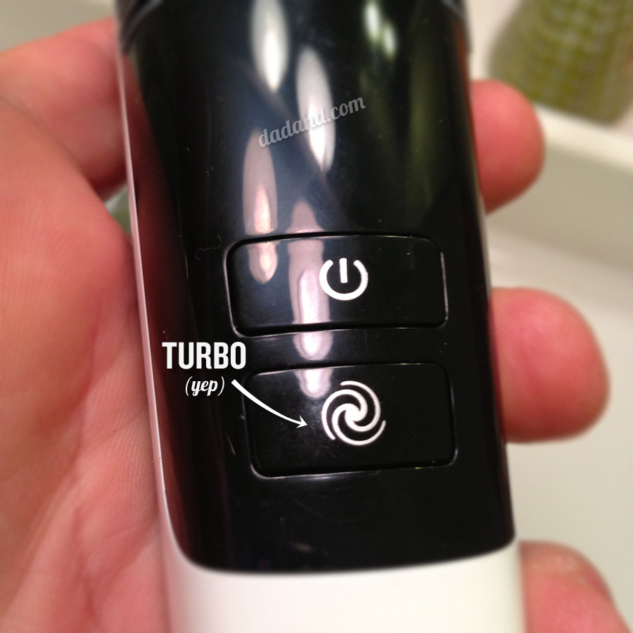 Phillips Vacuum stubble and beard trimmer turbo