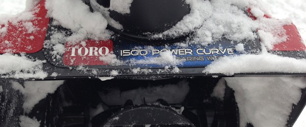 Toro® 1500 Power Curve® Electric Snowblower Review