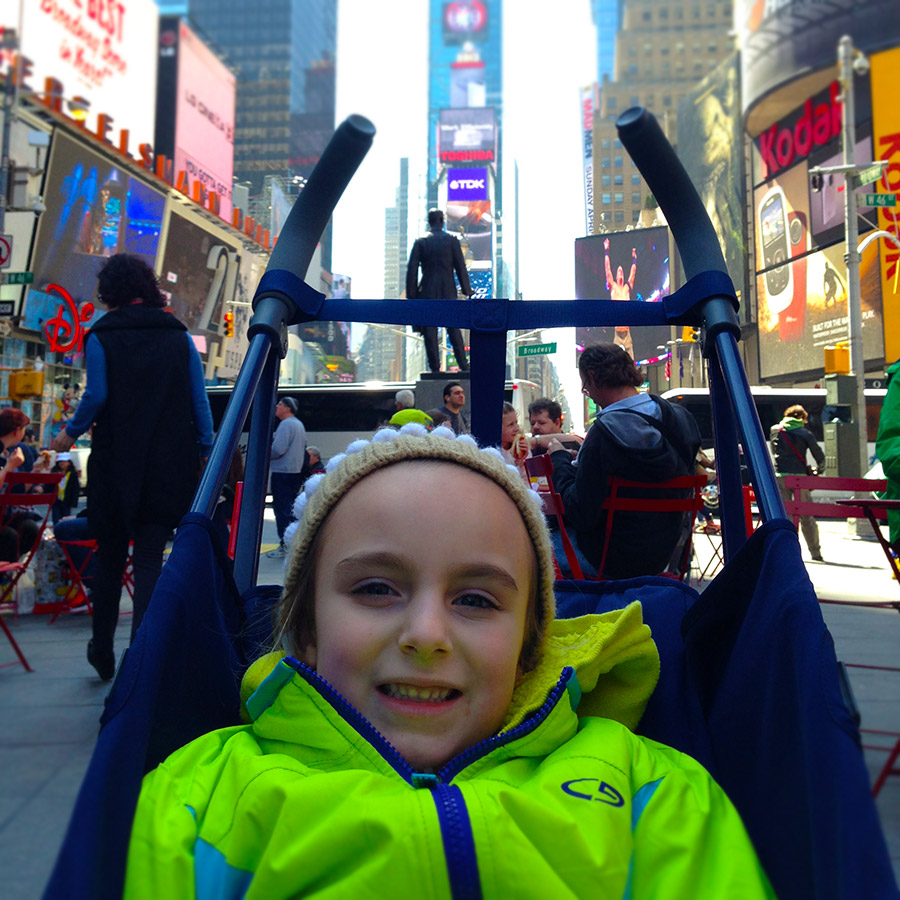 Maclaren BMW Stroller in Times Square