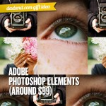 Dad Gift Idea - Adobe Photoshop Elements