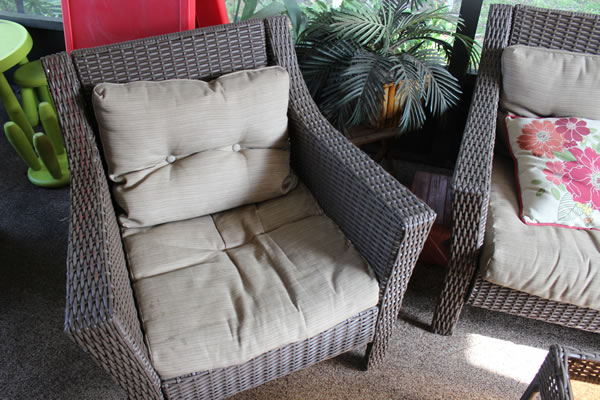Fresh Our patio furniture is only a year old but the cushions weren ut the
