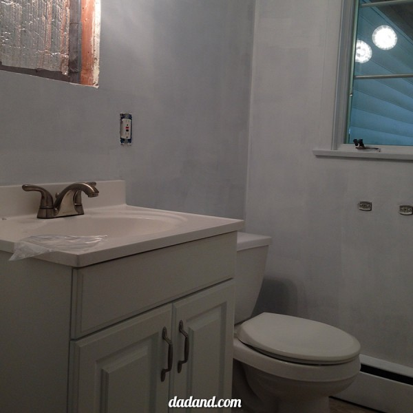 Lowe's Bathroom Facelift