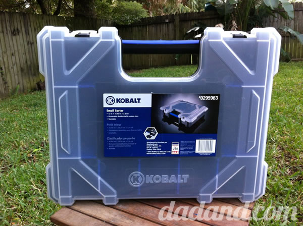 "I started with these Kobalt Small Sorters (P/N 295963 http://www.lowes.com/ProductDisplay?partNumber=295963-61896-295963). I also picked up some ½"" Birch Plywood (P/N 6199 http://www.lowes.com/ProductDisplay?partNumber=6199-99899-1503302) and ¼"" birch plywood (P/N 6196 http://www.lowes.com/pd_6196-99899-0260_0__?productId=3604750)."