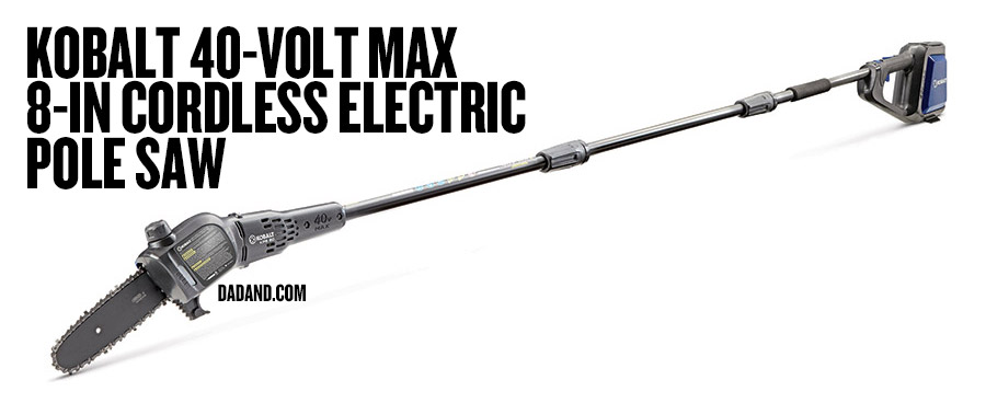 Kobalt 40-Volt Max 8-in Cordless Electric Pole Saw