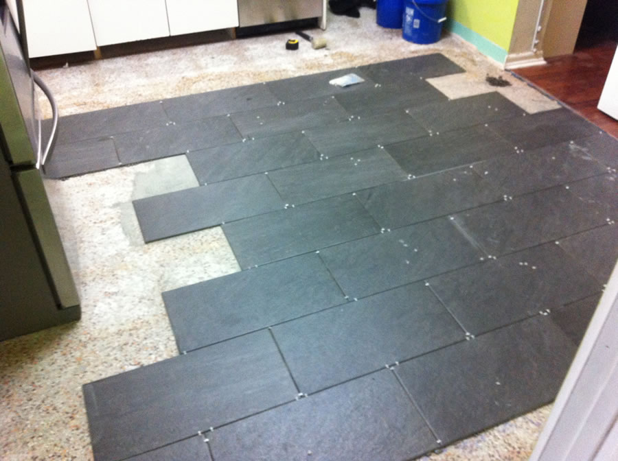 Kitchen Tiles Brick Style i re-tiled my kitchen | dadand - dadand
