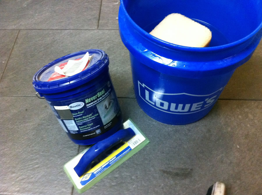 Enter Shiny New Bucket 2 Filled With Clean Water And A Sponge It