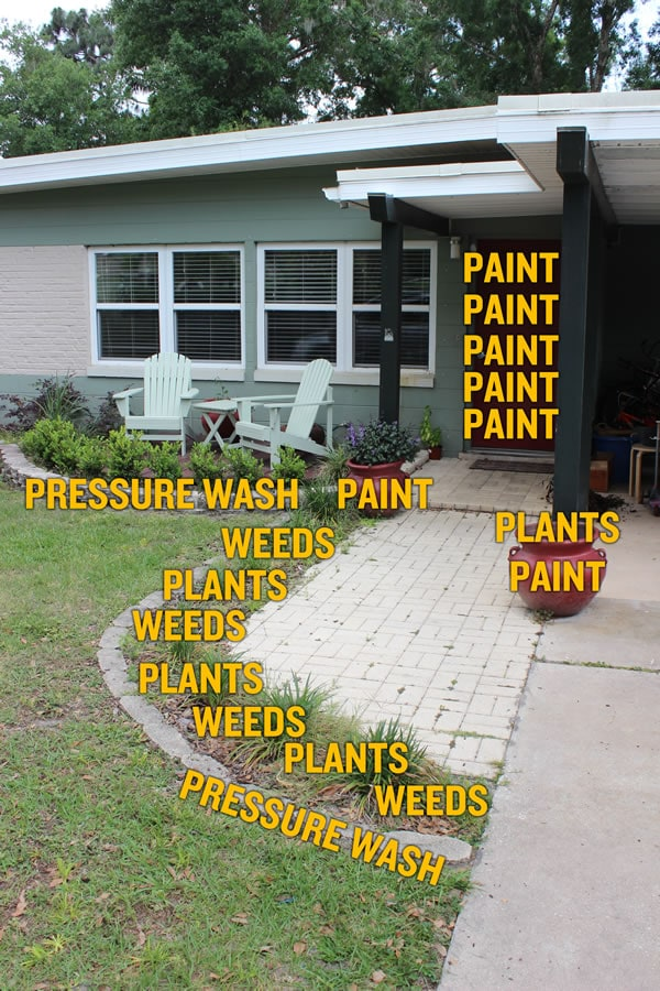 Spring projects around the house