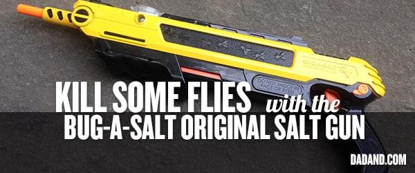 the bug a salt original salt gun fly swatter