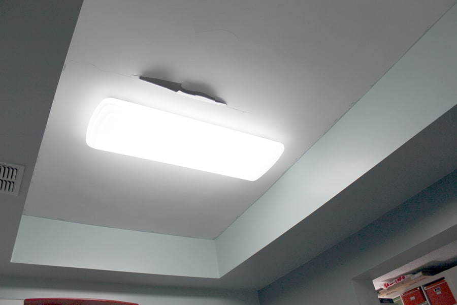 kitchen update - tongue and groove ceiling | dadand - dadand