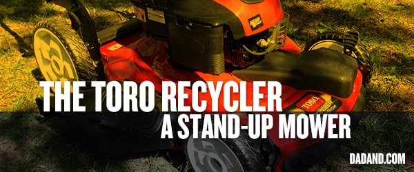 The TORO Recycler® with SmartStow™ Technology
