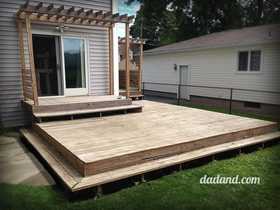 Deck refinishing and waterproofing