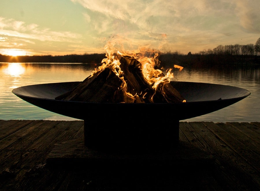 How to Build an allen+roth Outdoor Fire Pit Kit | dadand.com
