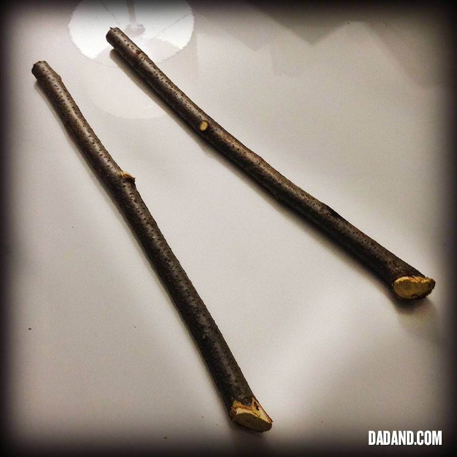 DIY Harry Potter Wand and DIY Hermione Granger Wand