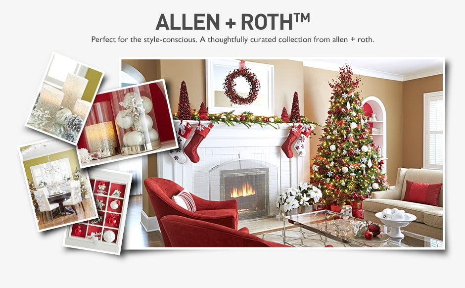 lowes holiday collection allen roth