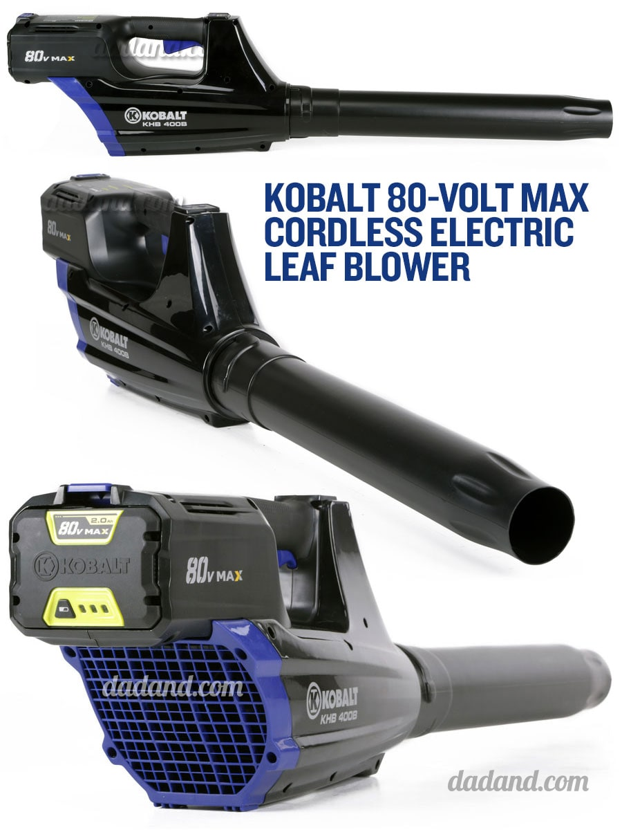 Cordless Electric Blower : Kobalt v max cordless electric outdoor power equipment