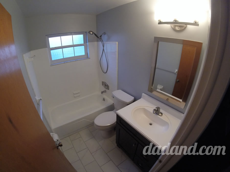Or Day Bathroom Remodel Part Paint Dadandcom Dadandcom - Valspar bathroom paint