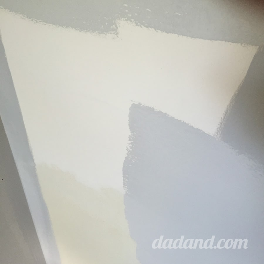 I mentioned that valspar reserve is a combination paint and primer which offers the maximum
