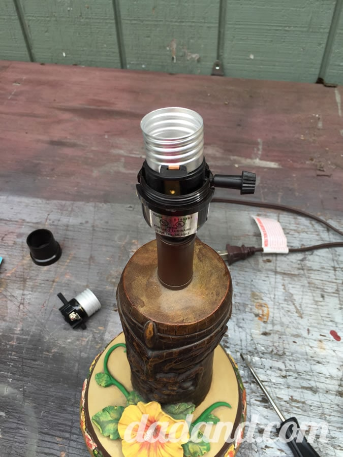 New switch in place.
