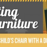 Painting Furniture: Makeover a Child's Chair with A Dr. Who Theme