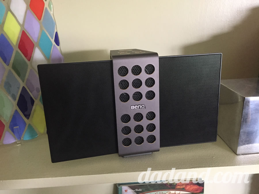 Electrostatic bluetooth speaker review from dad blog.