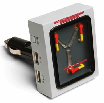 Holiday Gifts for Dad Back to the Future Flux Capacitor Car Charger