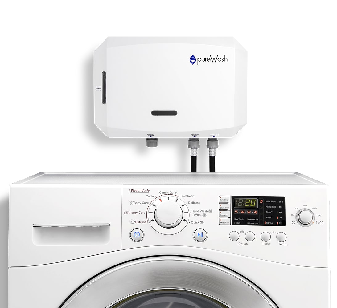 pureWash Pro Main with Washing Machine