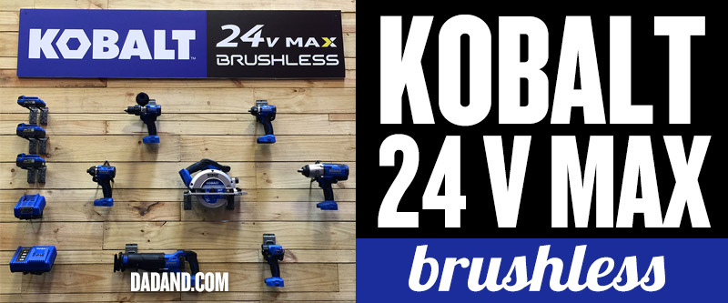 Kobalt 24V MAX brushless cordless power tools