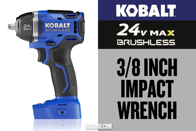 Kobalt 24v MAX Brushless 3/8 inch Impact Wrench