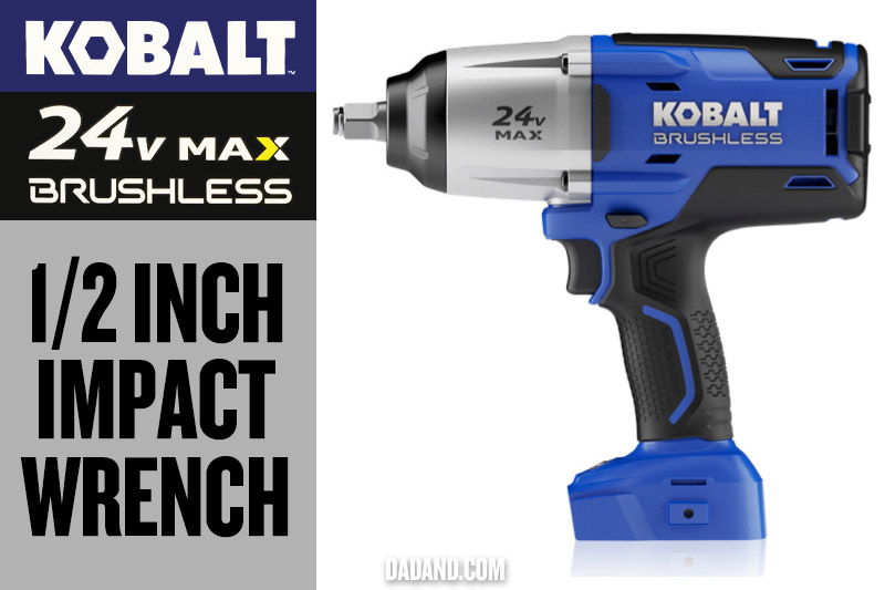Kobalt 24v MAX Brushless 1/2 inch Impact Wrench