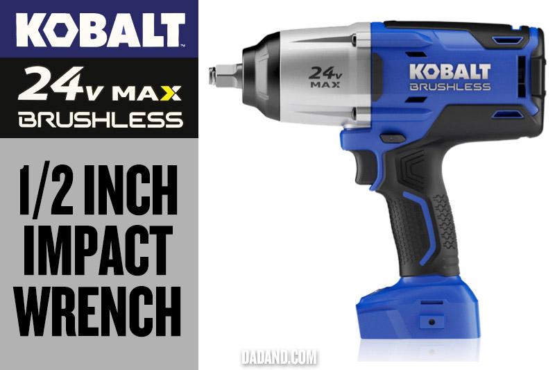 Kobalt 24v MAX Brushless 1/2 inch Impact Wrench