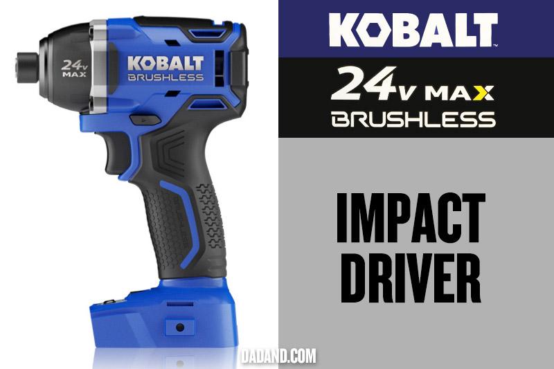 Kobalt 24v MAX Brushless Impact Driver