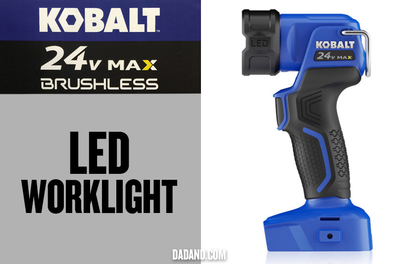 Kobalt 24v MAX Brushless LED Worklight