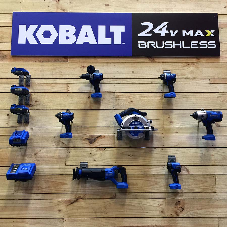 Kobalt 24v MAX Brushless Line of Tools